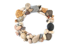 The circle of stones. Stock Photography