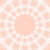 Circle symmetrical background. Vector orange circle symmetrical background Stock Photo