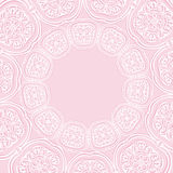 Circle symmetrical background. Vector pink circle symmetrical background Stock Photos