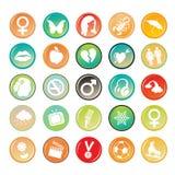 Circle Tags Royalty Free Stock Image