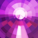 Circle technics violet color abstract vector background. Bright mosaic Royalty Free Stock Image
