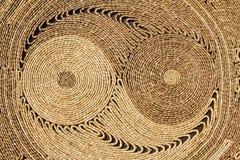 Circle textured handmade. Natural circular texture, Handmade with beautiful design royalty free stock photos