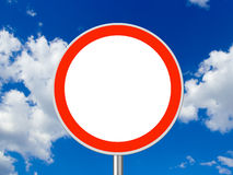 Free Circle Traffic Sign Royalty Free Stock Images - 7484149