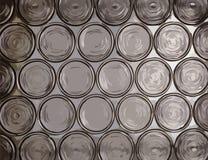 Circle translucent glass texture Stock Image