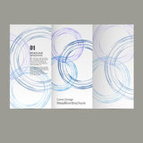 Circle Vector annual report Brochure Flyer template design, book cover layout , Abstract presentation templates royalty free illustration