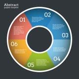 Circle vector template. Stock Photo