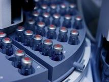 Circle of vials Stock Photos