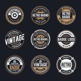 Circle Vintage and Retro Badge Design vector illustration