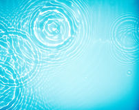 Circle water ripple wave suface. Background Royalty Free Stock Photo