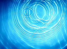 Circle water ripple wave suface. Background Stock Photography
