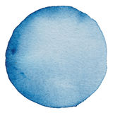 Circle watercolor painted background. Royalty Free Stock Photo