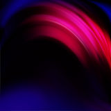 Circle, waved  colorful abstract image Royalty Free Stock Photos