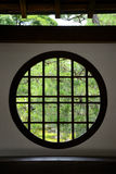 Circle window Royalty Free Stock Photos