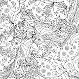 Circle zentangle Royalty Free Stock Photography
