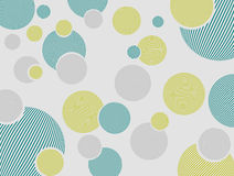 Circles. Abstract drawing with multi-colour original circles for pattern or a background Stock Photo
