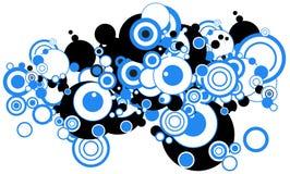 Circles royalty free illustration