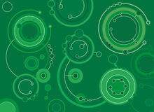 Circles. Vector background Stock Photography