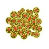 Circles. Retro design and cirlces Royalty Free Stock Photos