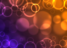 Circles abstract background. Abstract background of bubbles and circles Royalty Free Stock Images