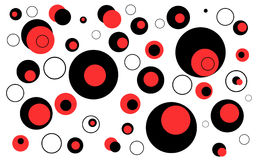 Circles Abstract Background royalty free illustration