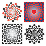 Circles abstract backgrounds. Royalty Free Stock Photo