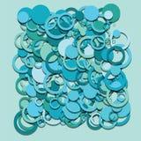 Circles abstract vector Royalty Free Stock Photo