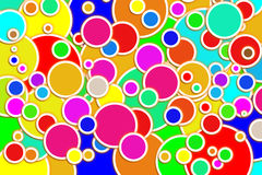 Circles background. Stock Photography