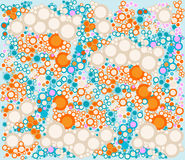 Circles background Royalty Free Stock Photography