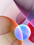 Circles Background. Digitally generated image of circles background Vector Illustration