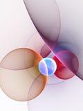 Circles Background. Digitally generated image of circles background Royalty Free Illustration