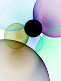 Circles Background. Digitally generated image of circles background Royalty Free Stock Image