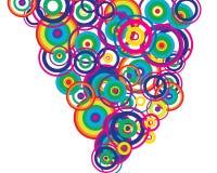Circles background Royalty Free Stock Image