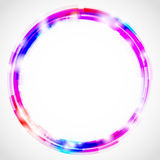 Circles background. Abstract background with colorful circles and empty space Royalty Free Stock Photography