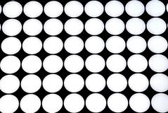 Circles background. Circles in black and white as backgrounds stock images