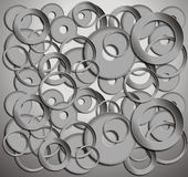 Circles background Stock Photo