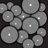 Circles Background Stock Image