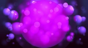 Circles background purple. Abstract purple and pink background stock illustration