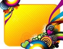Circles  banner Stock Images