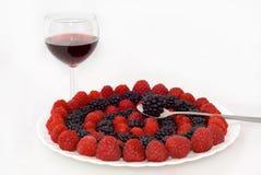 Circles Of Berries Stock Image