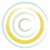 Circles Brush Pastel Two Stock Images
