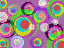 Circles Color Represents Round Abstract And Multicoloured Stock Images