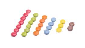 Circles colors order Stock Photos