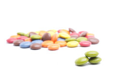 Green candy Royalty Free Stock Photos