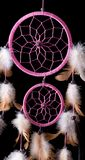Circles of dream catcher Stock Photos