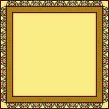 Circles framed background Stock Images