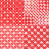 Circles geometric seamless pattern, Abstract background Stock Photography
