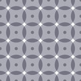 Circles graphic seamless background Royalty Free Stock Photography