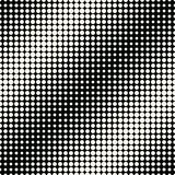 Circles halftone seamless geometric gradient black and white pattern vector illustration