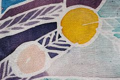 Circles, hot batik, background texture, handmade on silk, surrealism art. Circles, hot batik, background texture, handmade on silk,  surrealism art royalty free stock images