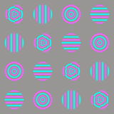 Circles, hypnosis, wallpaper, Royalty Free Stock Photography